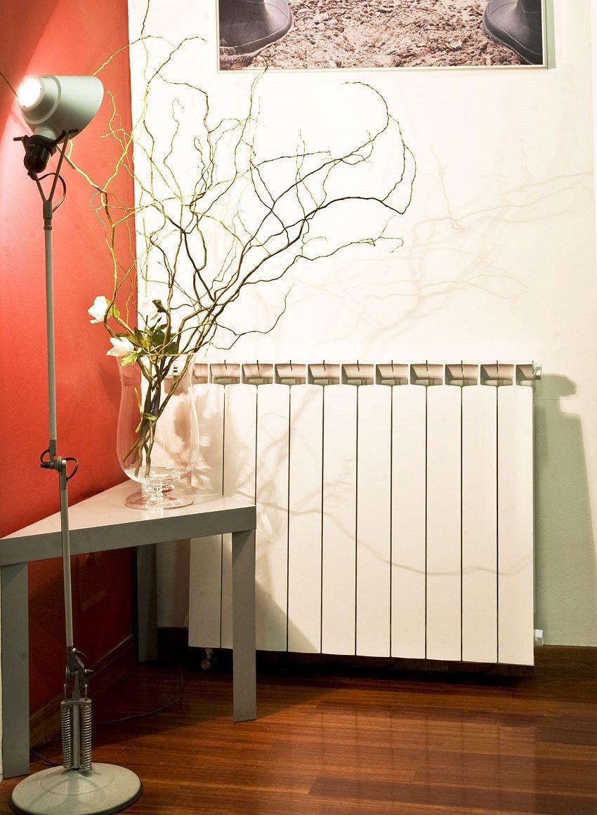 Биметаллический радиатор в квартире