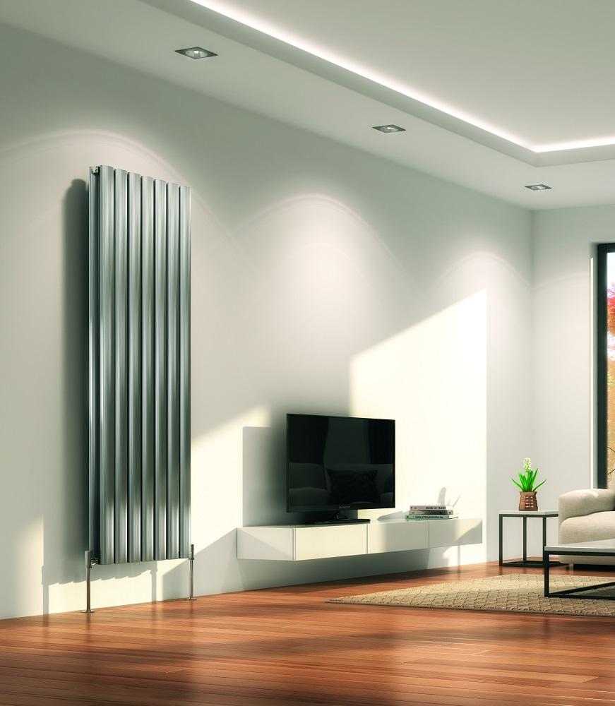 Алюминиевый радиатор в квартире