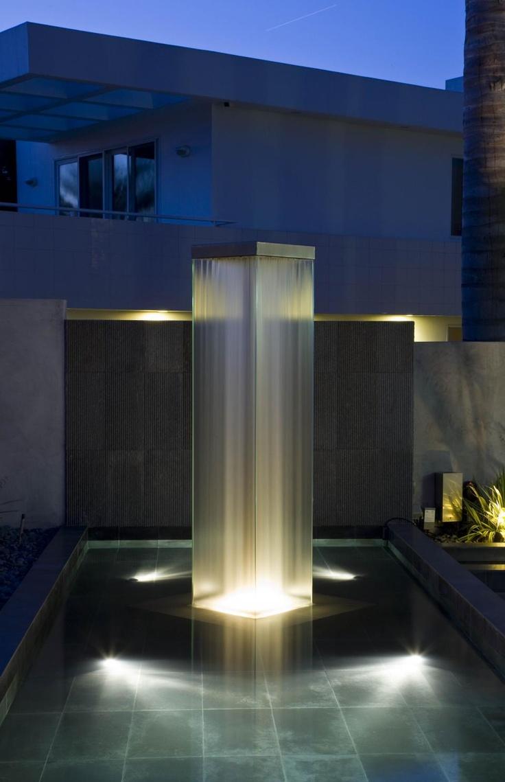 Фонтан с led-подсветкой