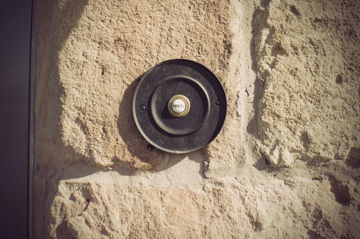 Дверной звонок в стиле лофт