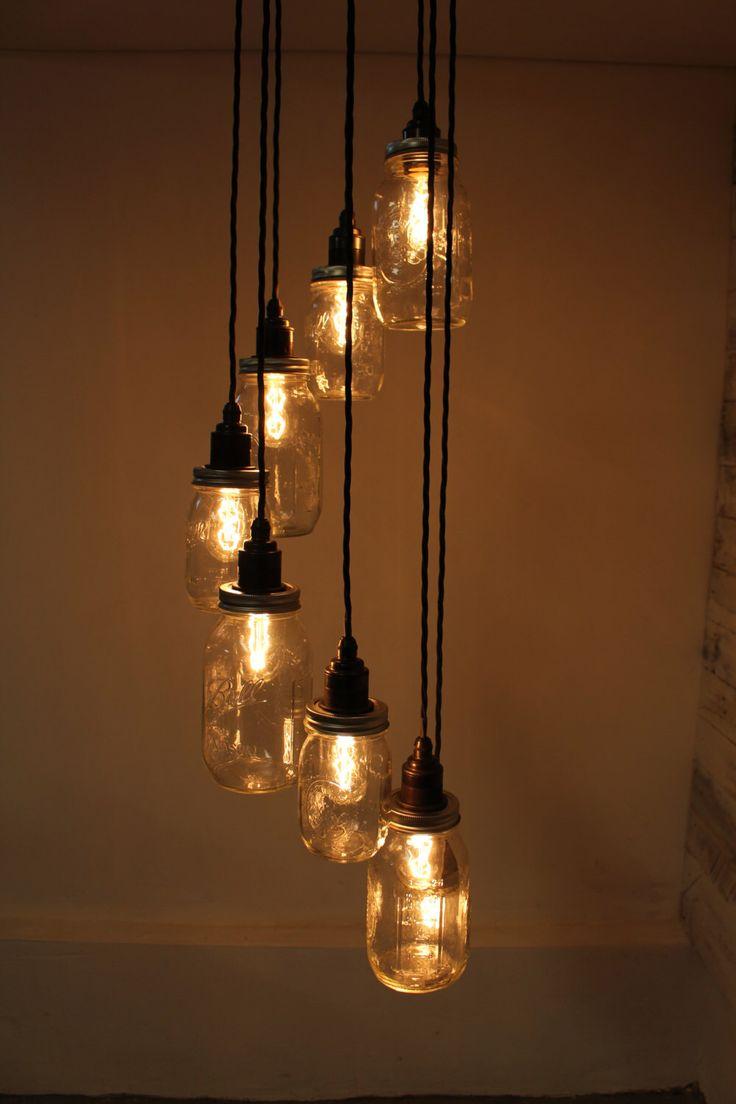Люстра с лампой Эдисона