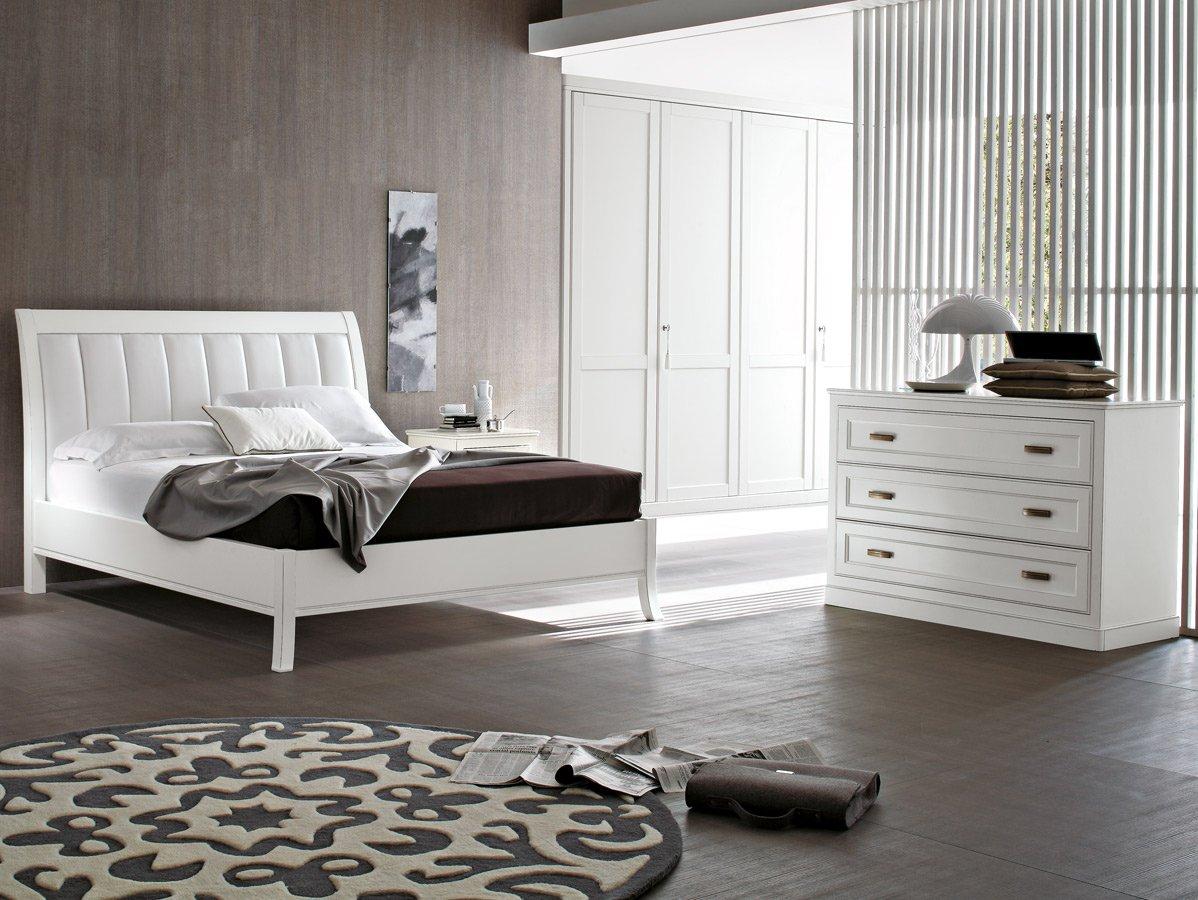 Белая мебель для спальни из массива