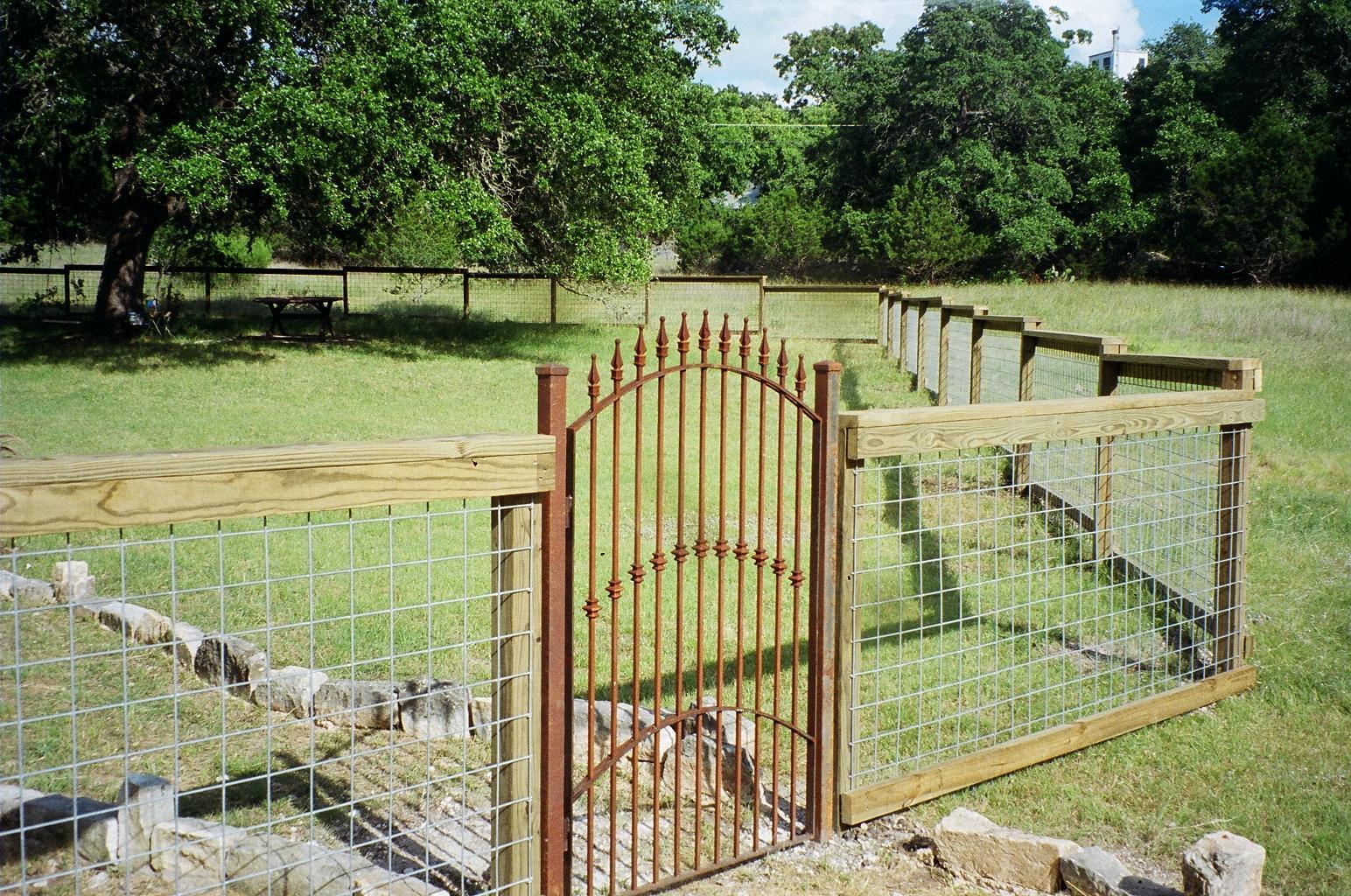 Ворота из профильной медной трубы