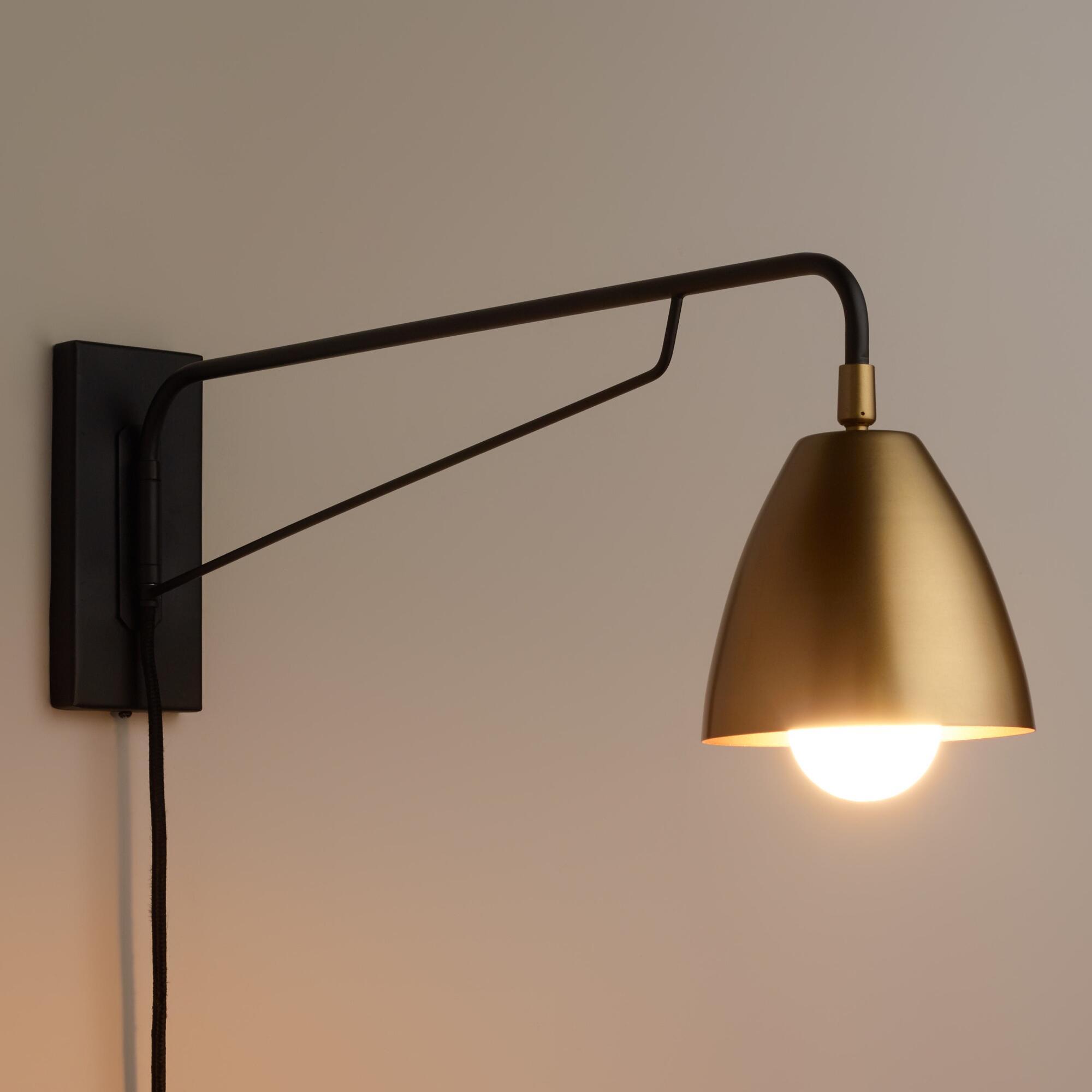 Светильник бра металлический