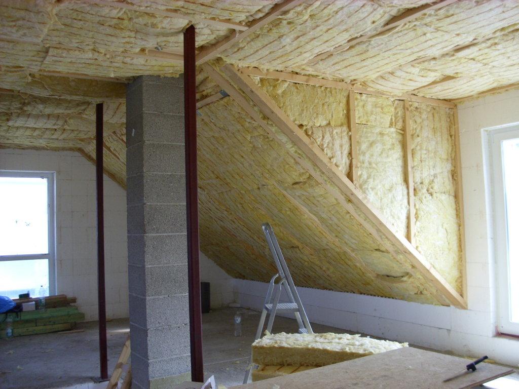 Шумоизоляция потолка минеральной ватой