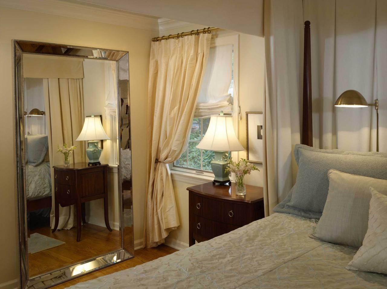Спальня в хрущевке в стиле модерн