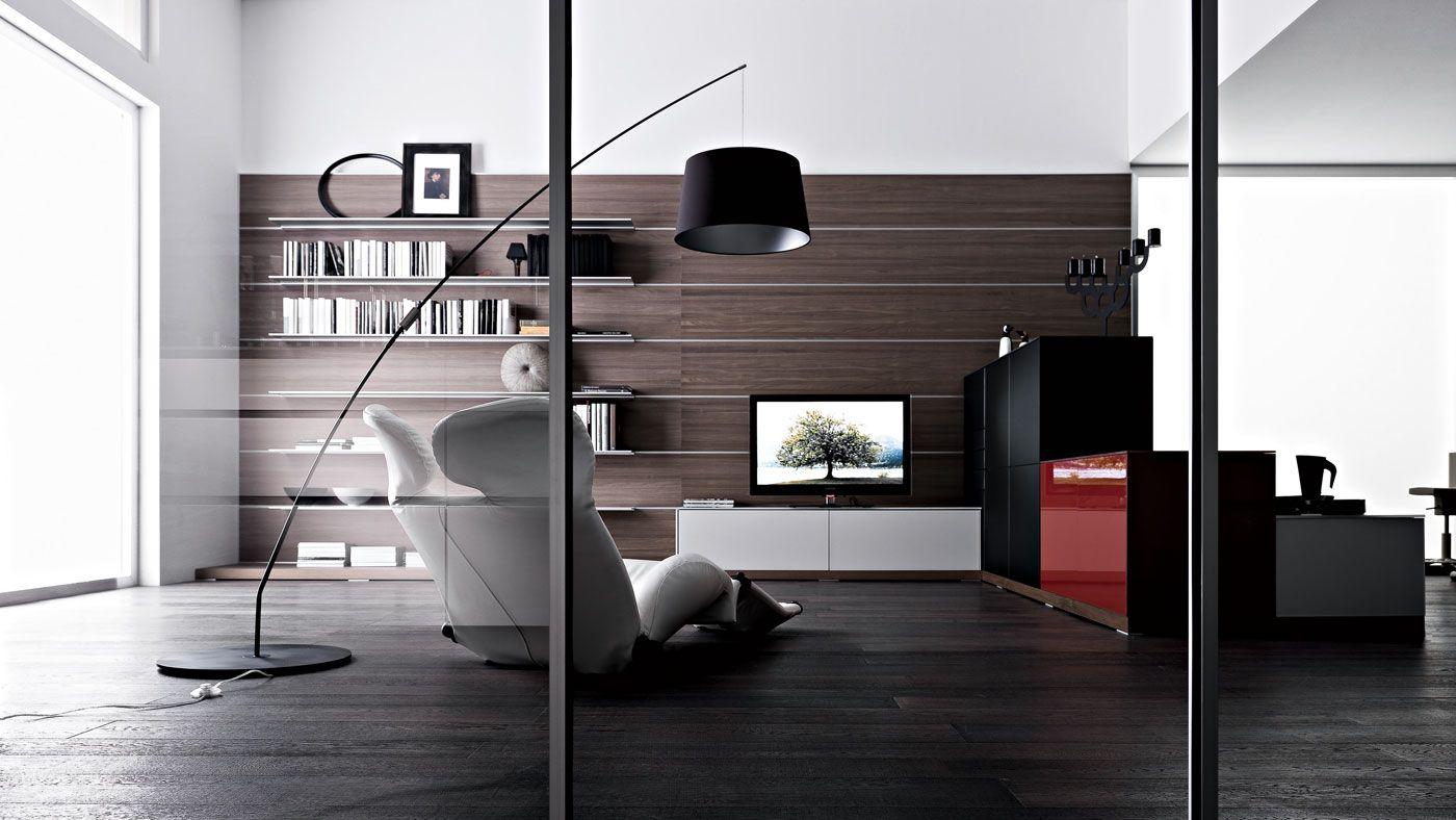 Черный ламинат в стиле модерн