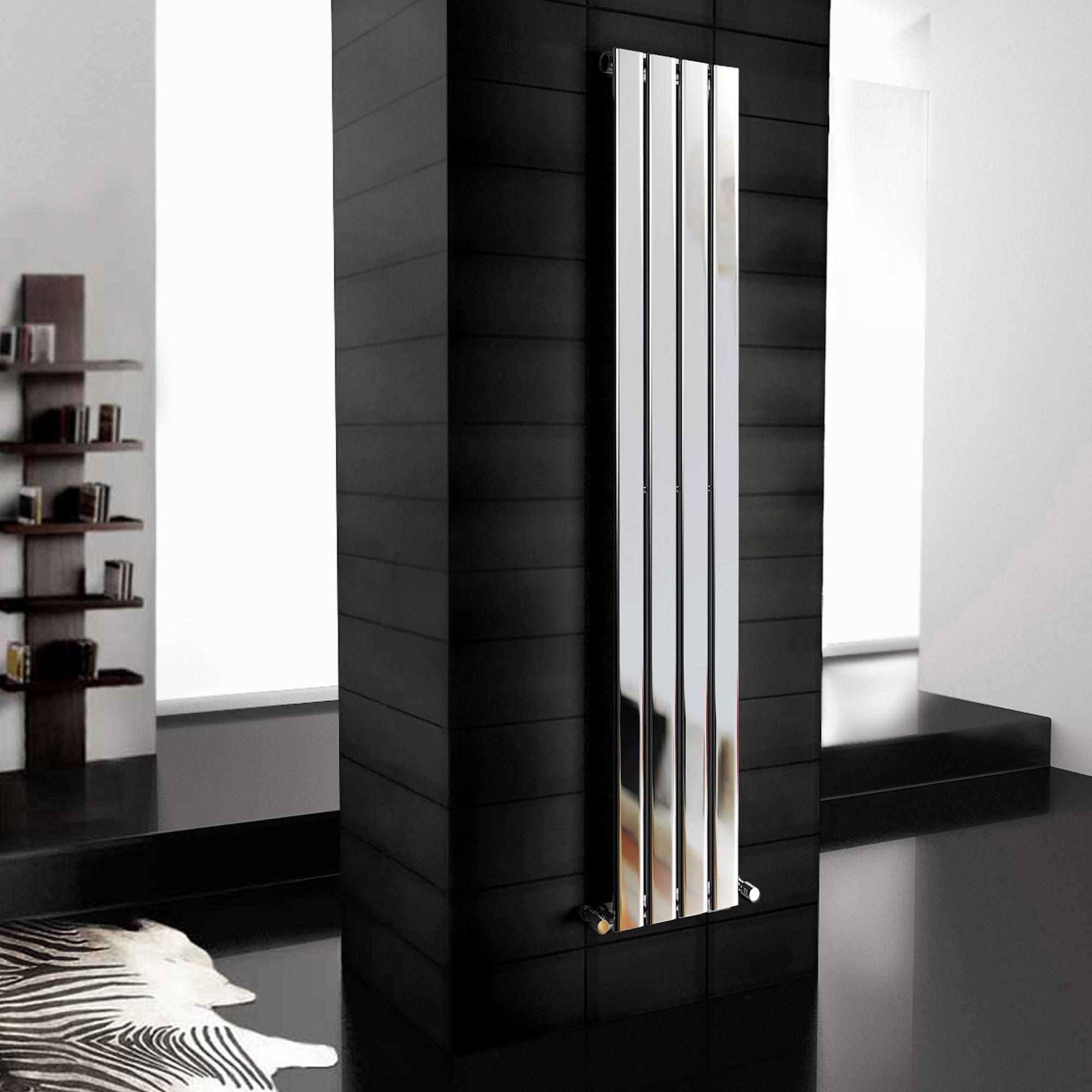 Вертикальный радиатор в стиле модерн