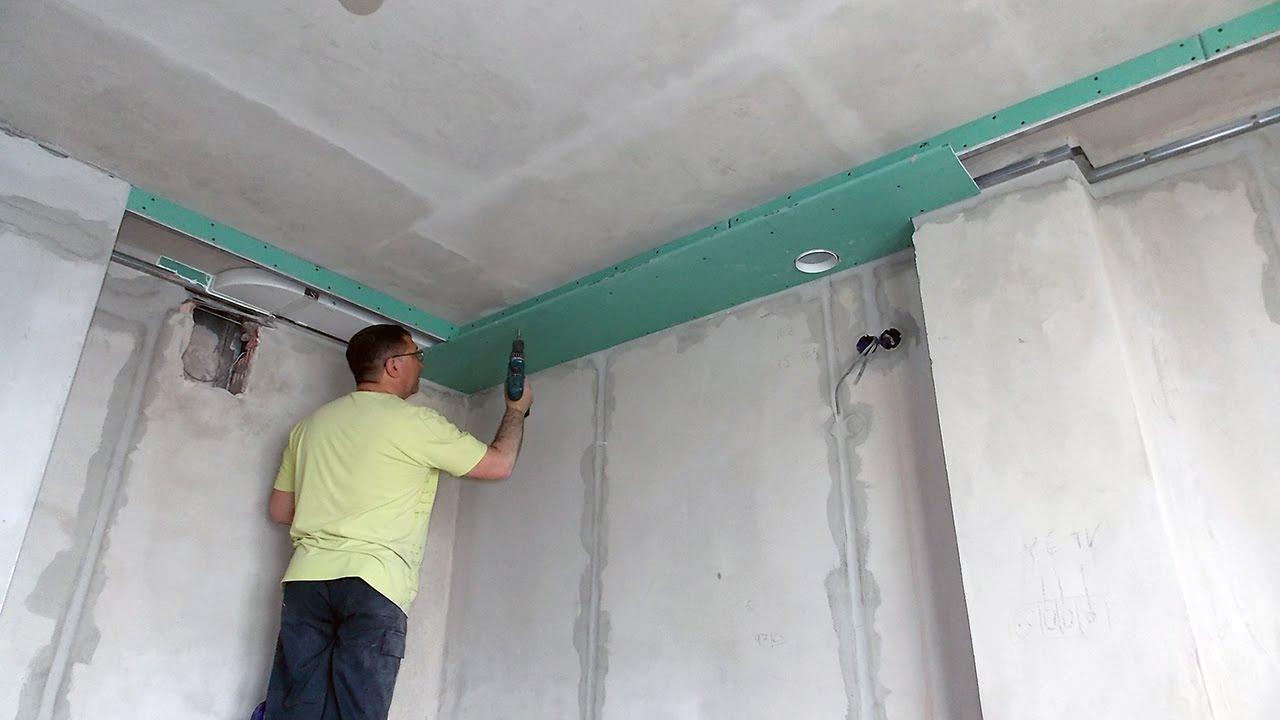 Монтаж вентиляционного канала на кухне