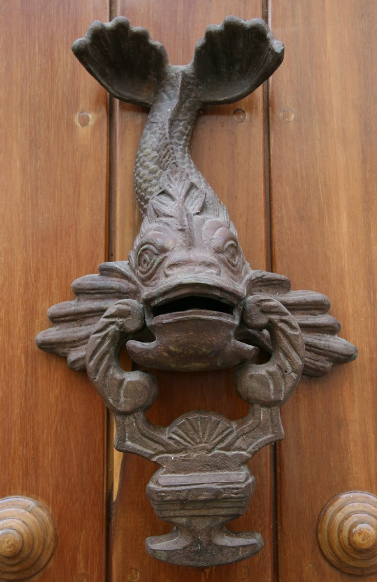 Дверной звонок в морском стиле