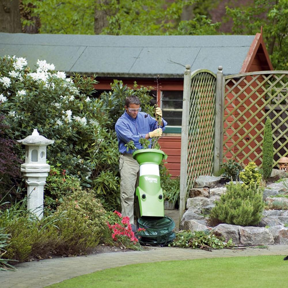 Садовый мощный измельчитель