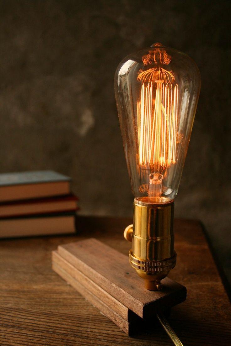 Настольная лампа Эдисона