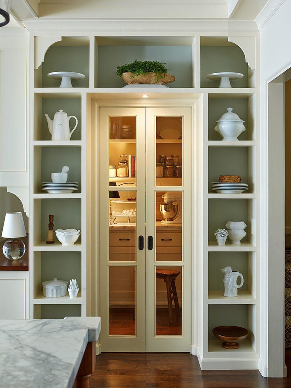 Двери для шкафа в нише