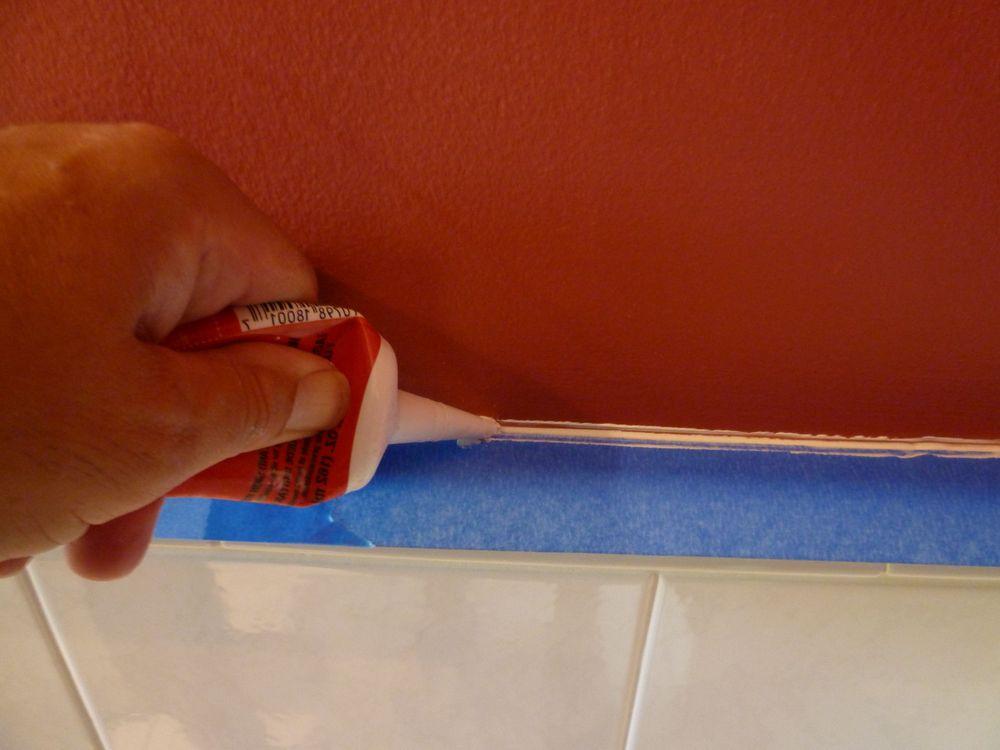Акриловый герметик для плитки