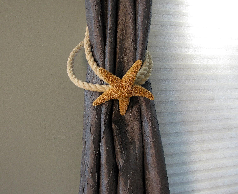 Подхват для штор из морской звезды