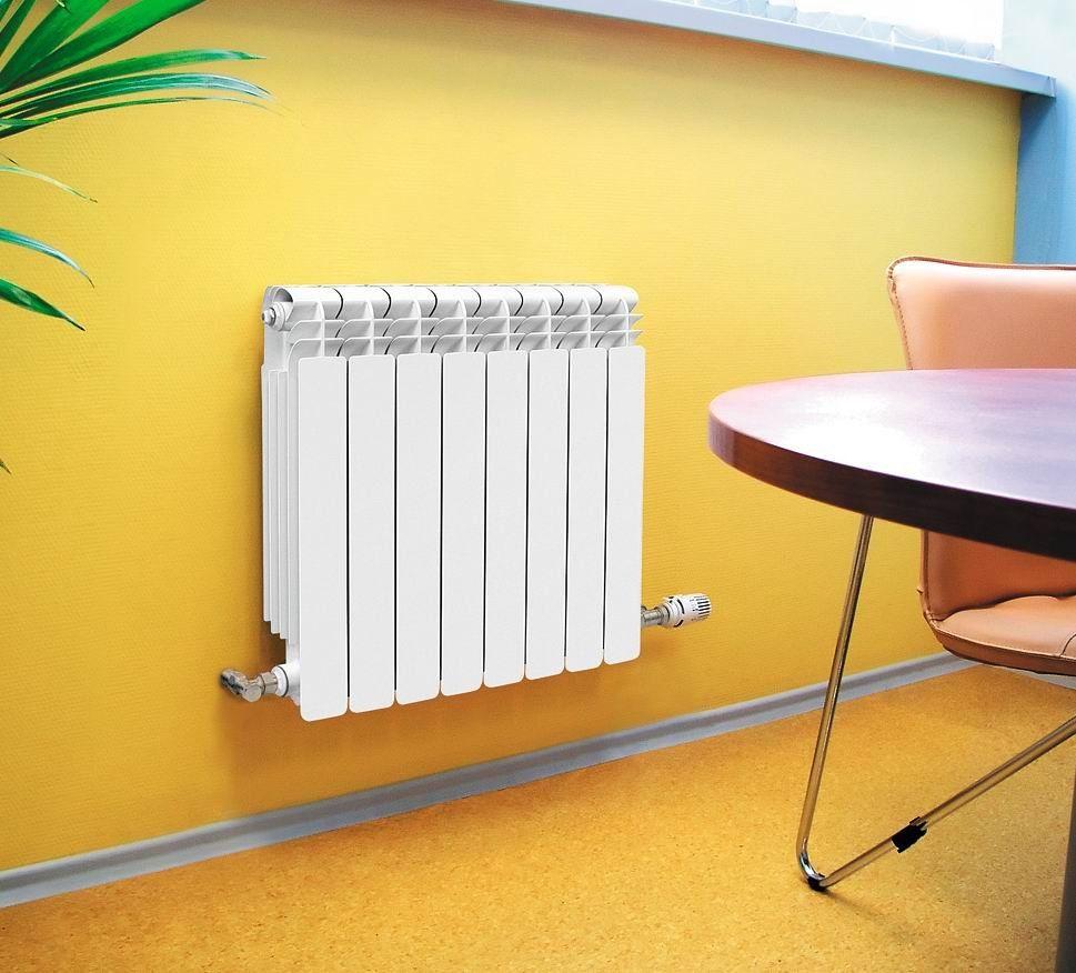 Биметаллический радиатор подключение