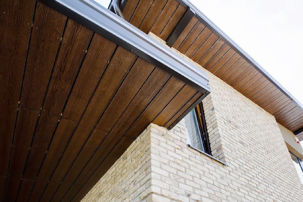 Фиброцементный сайдинг для потолка