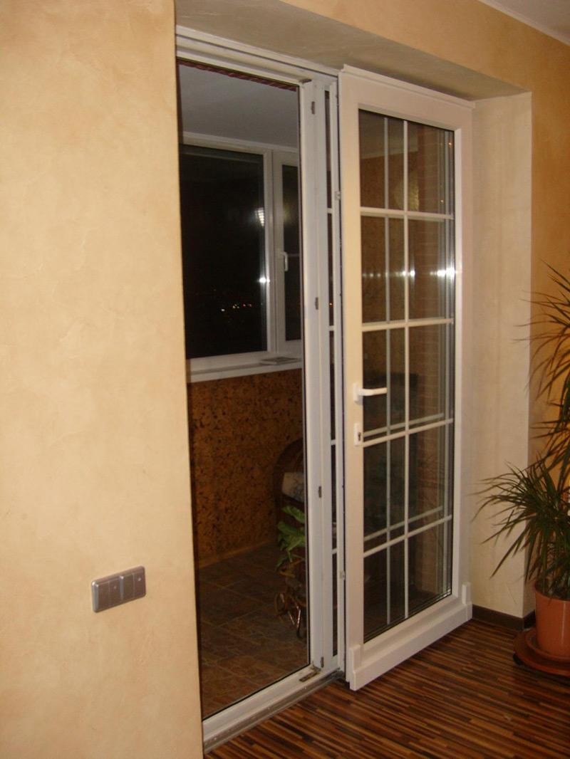 Дизайн раздвижной балконной двери