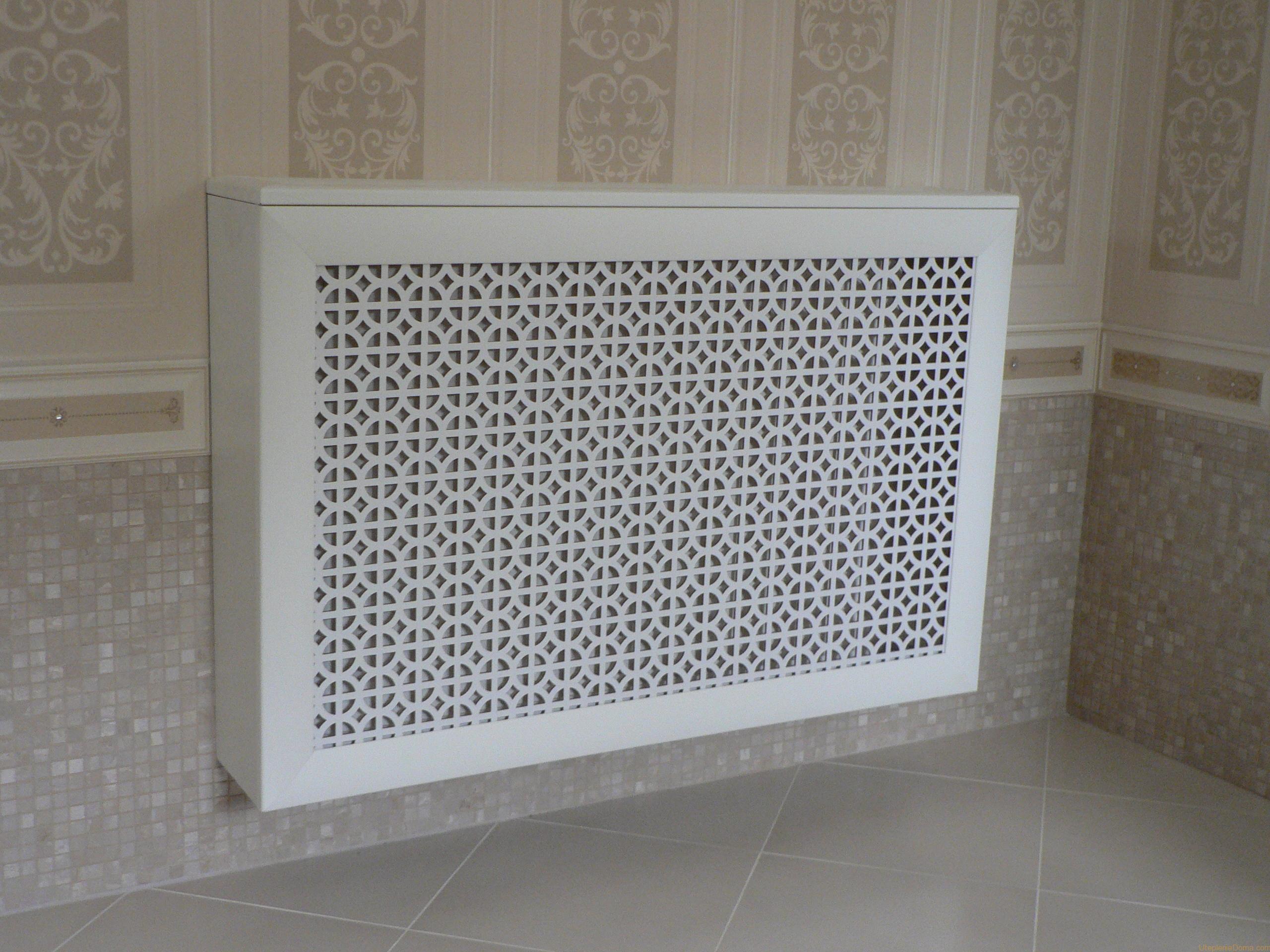 Алюминиевый радиатор с решеткой