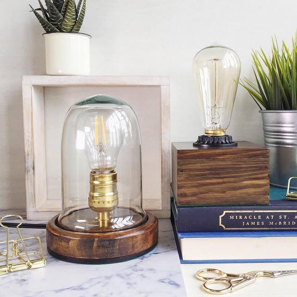 Лампа Эдисона в стиле ретро