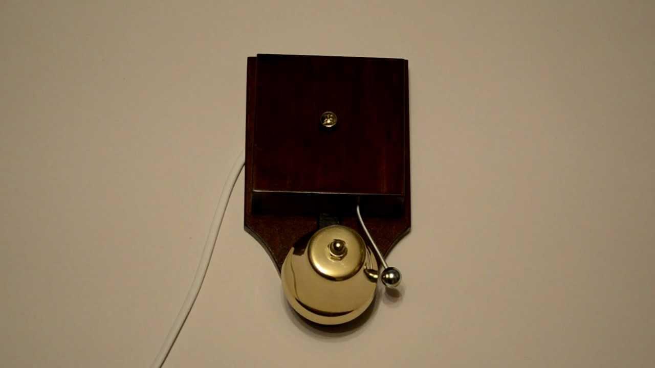 Дверной звонок в стиле ретро