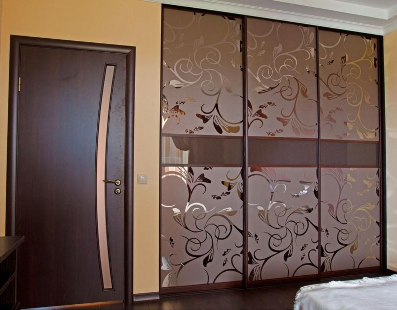 Двери для шкафа с рисунком