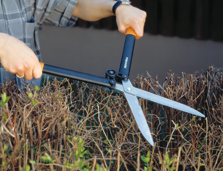 Садовые ножницы с рычажным приводом