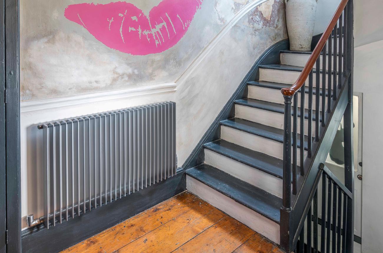 Серый алюминиевый радиатор