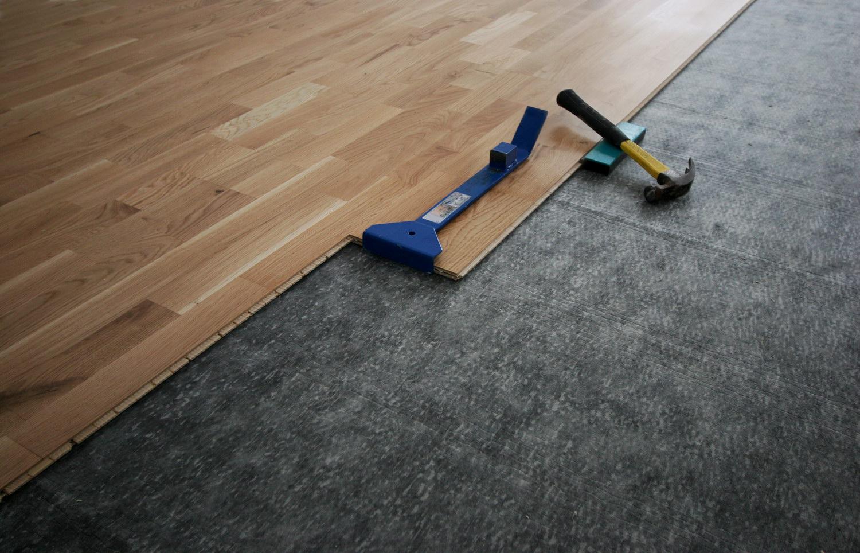 Ламинат шип паз на бетонном полу