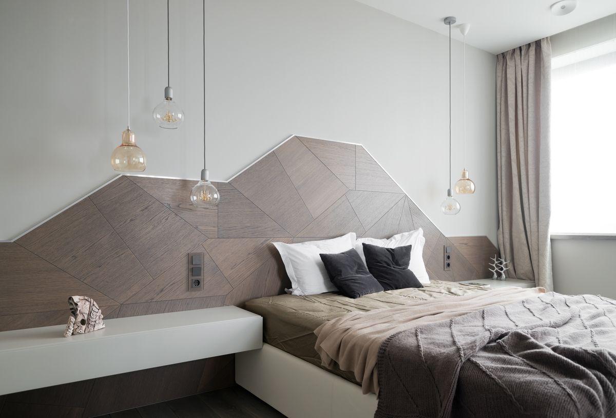 Лампа Эдисона в спальне