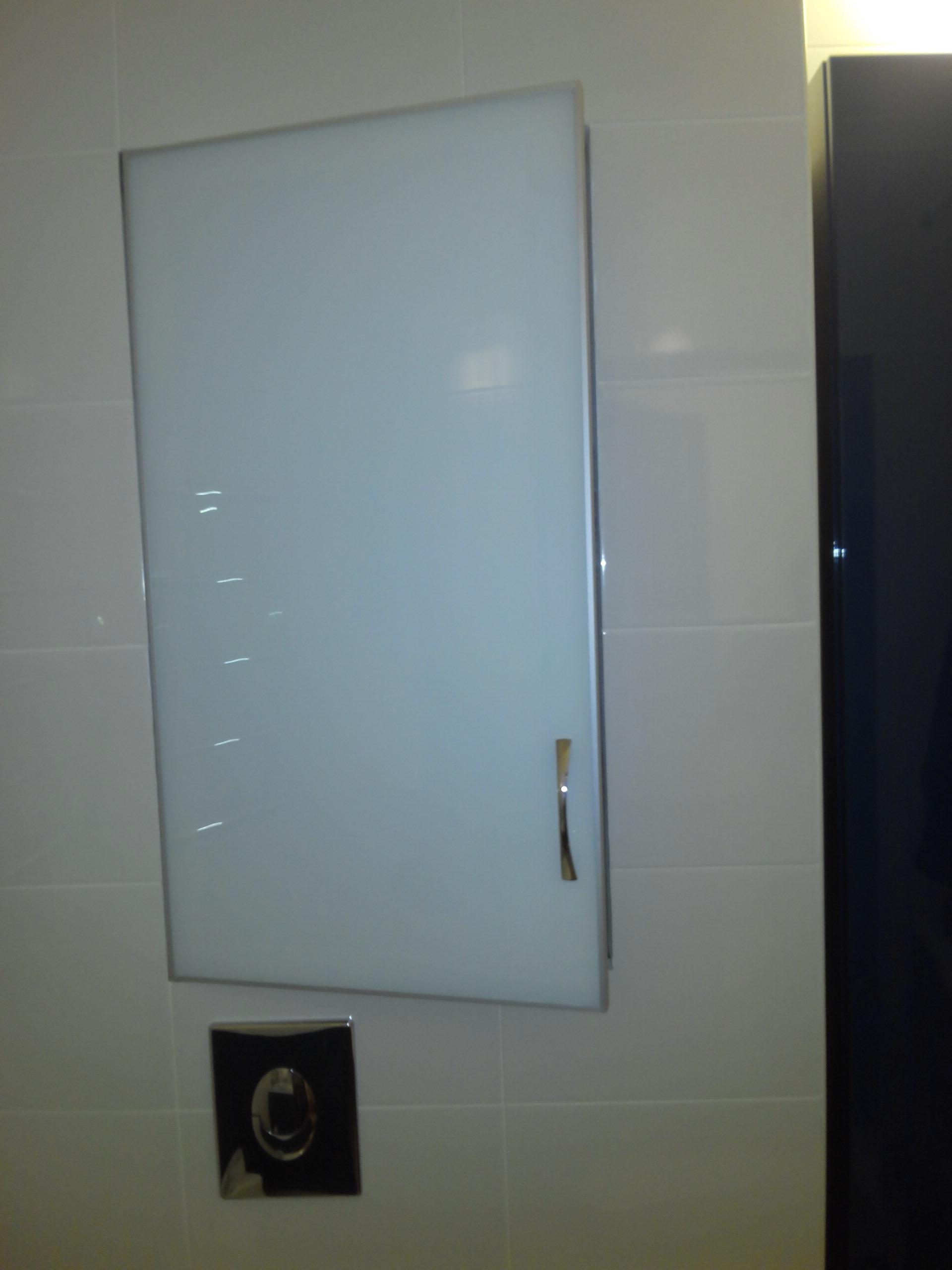 Сантехнический люк стеклянный