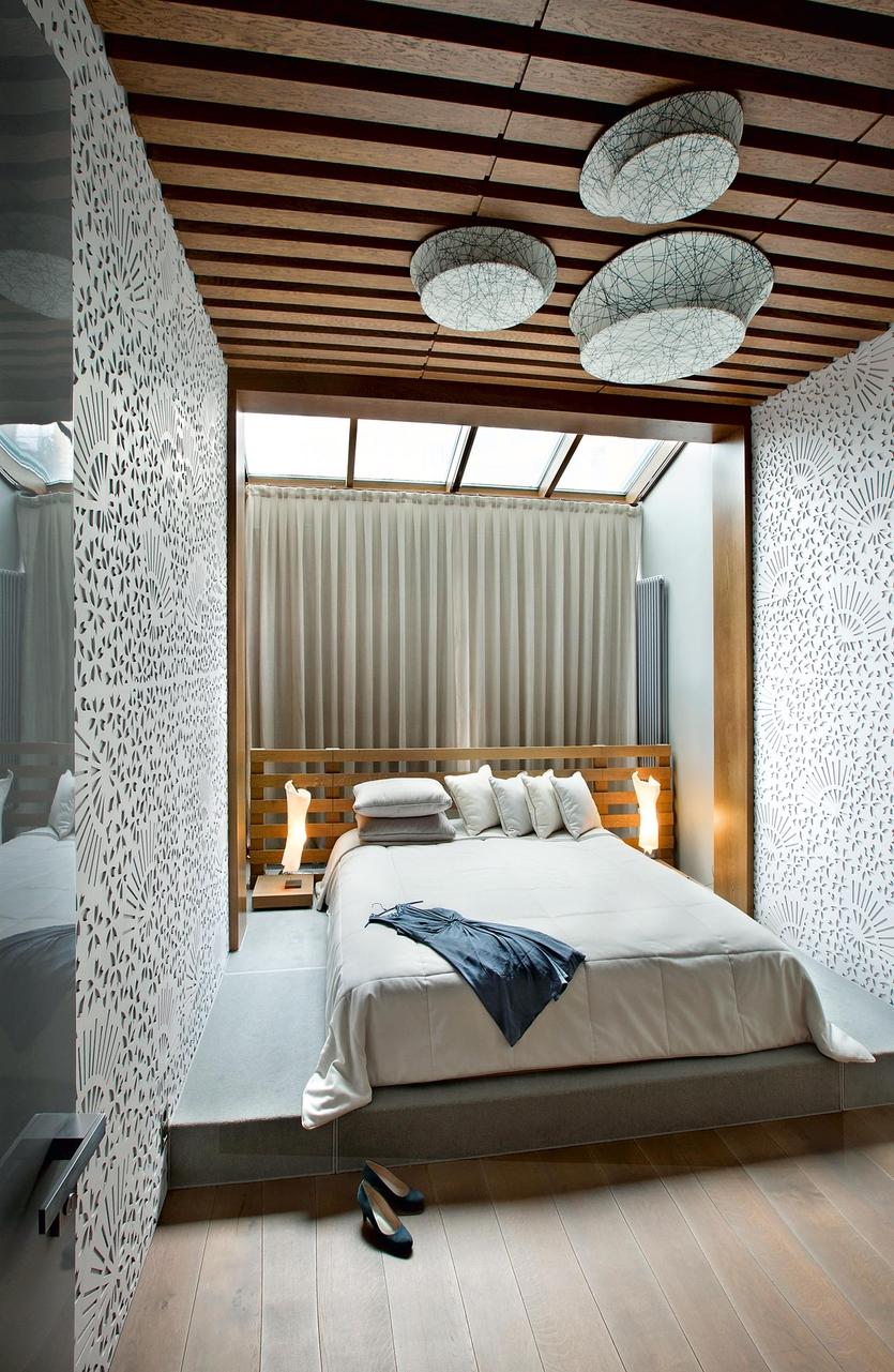 Спальня в японской стилистике