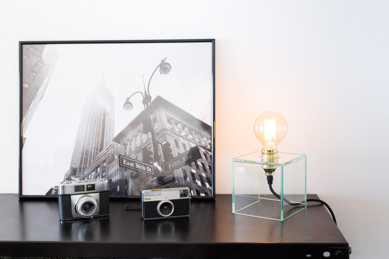 Светильник с лампой Эдисона