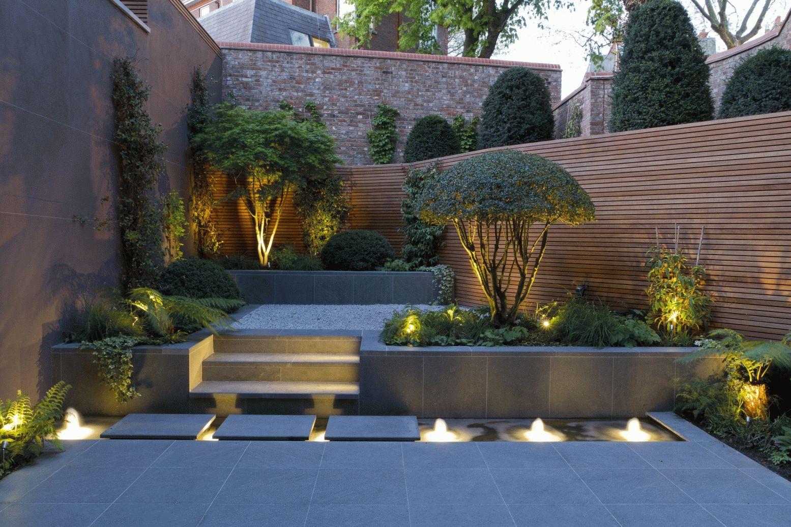 Фонтан с подсветкой: эксклюзивное украшение для квартиры и дачи (20 фото)