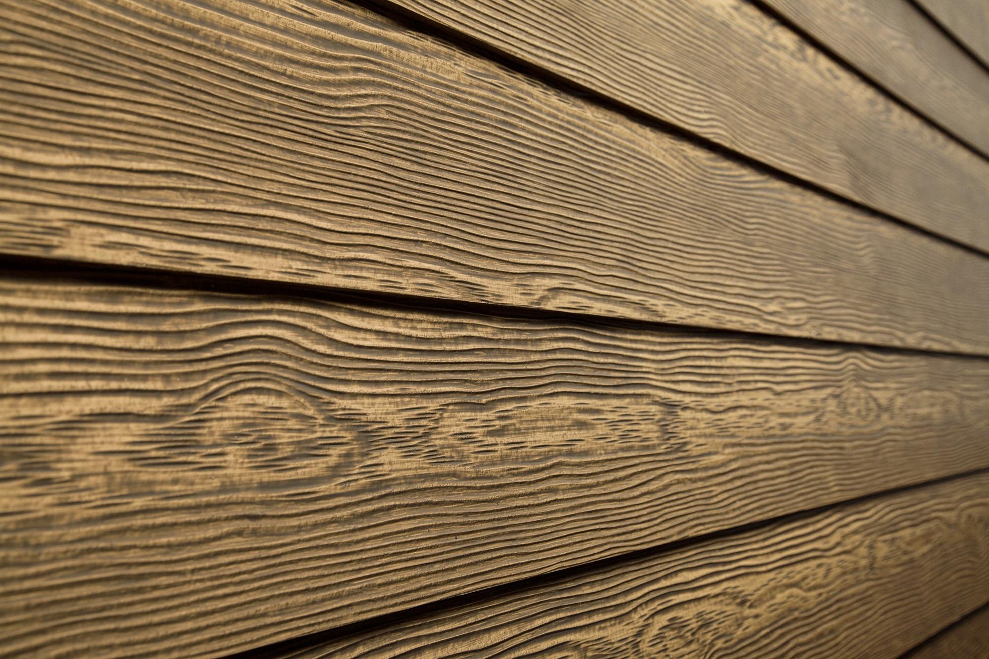 Фиброцементный сайдинг под деревянную текстуру