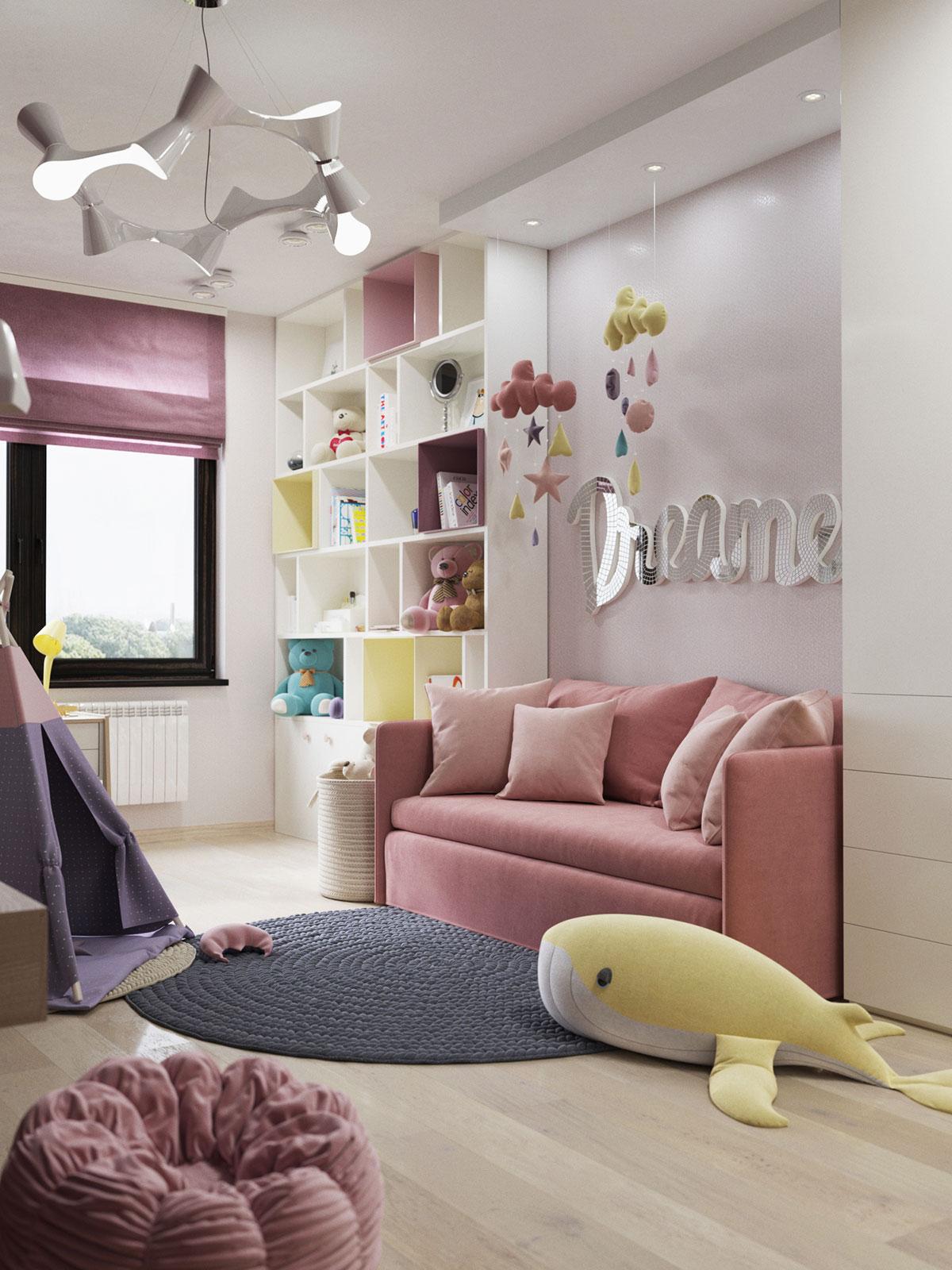 Как выбрать правильный диван для девочки