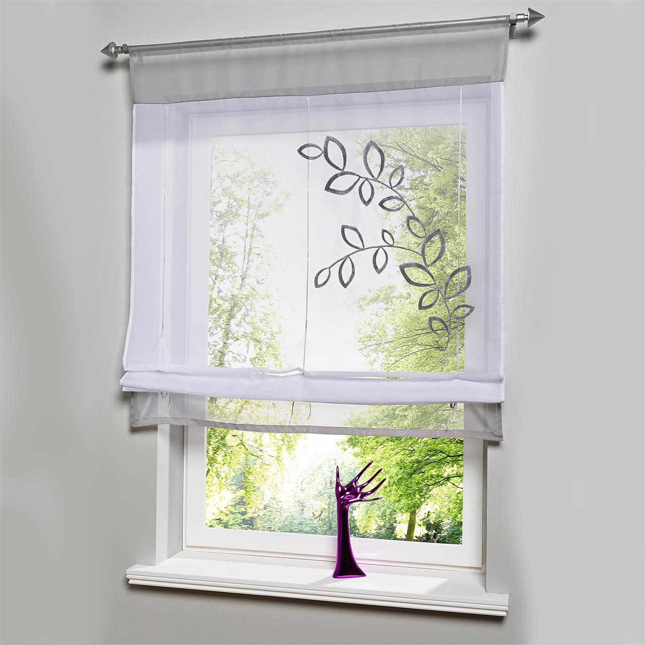 Узкие шторы из тюля