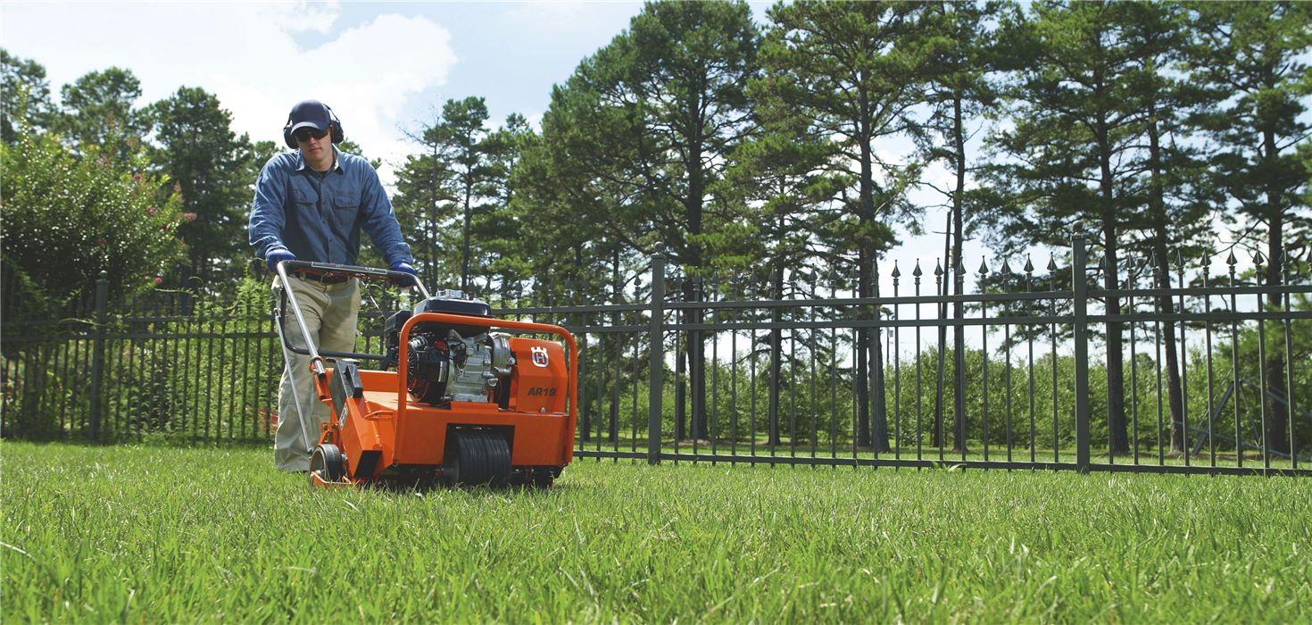 Вертикуттер для ухода за газоном