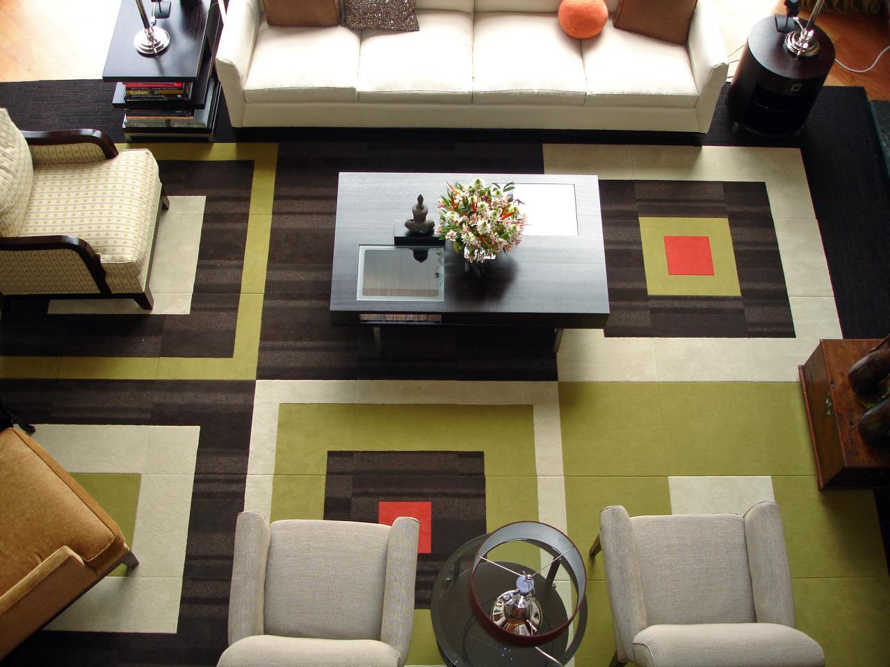 Узор из ковровой плитки