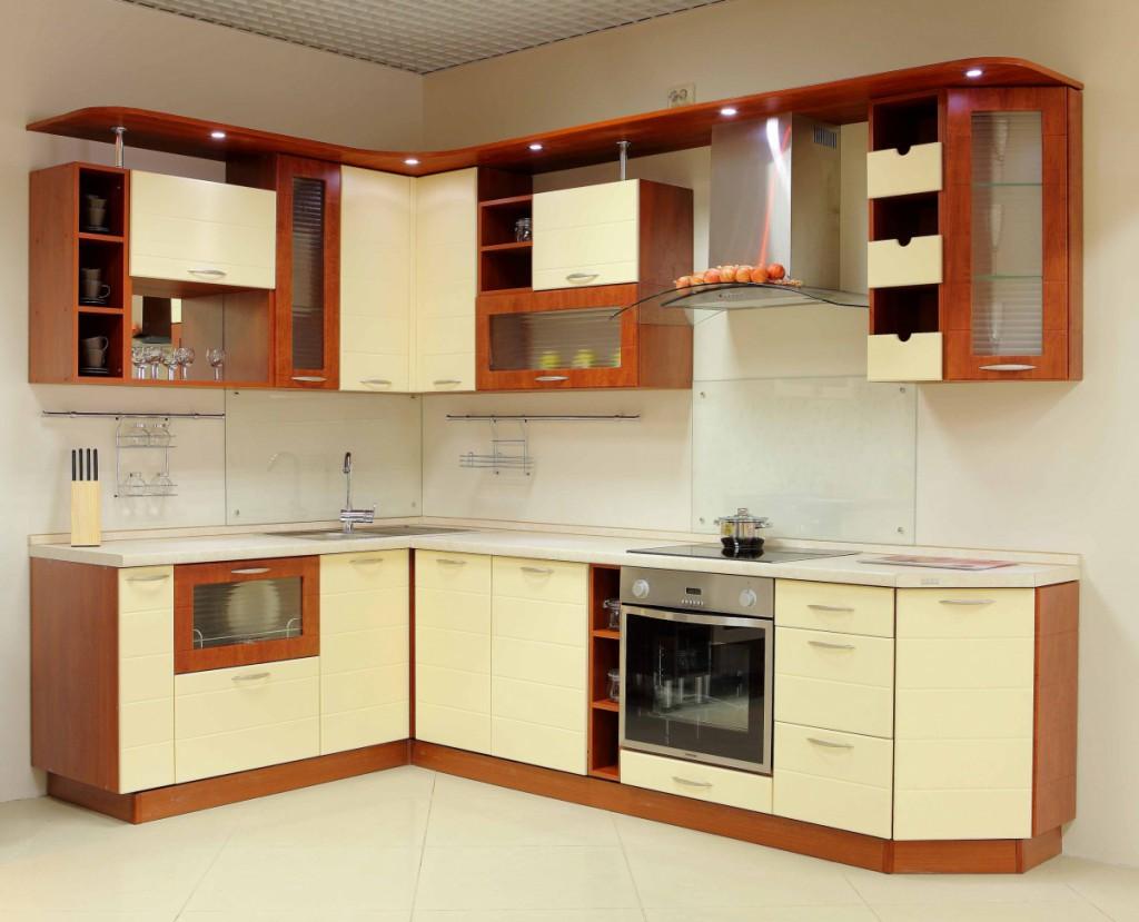 Кухня МДФ ваниль