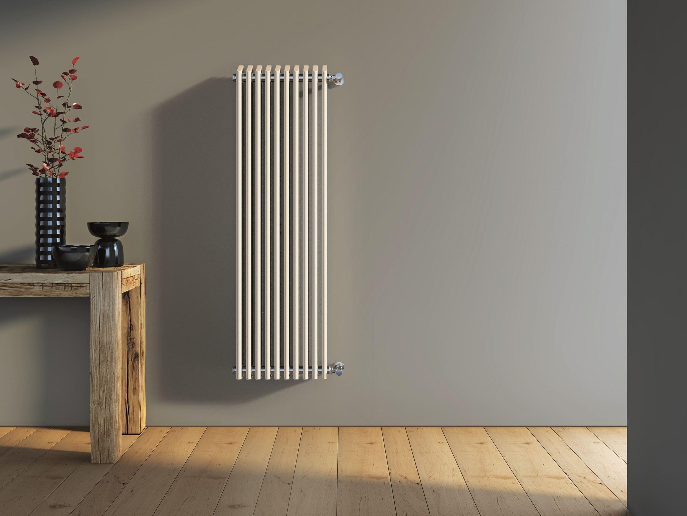 Настенный радиатор вертикальный
