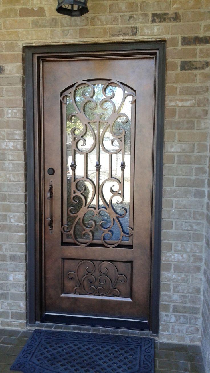 Кованая входная дверь