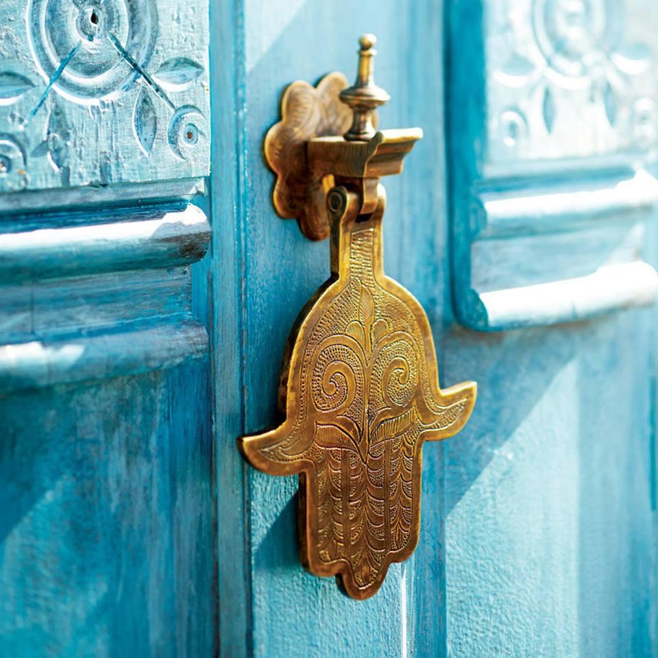 Дверной звонок в восточном стиле