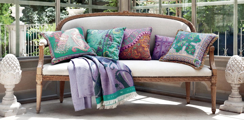 Диванные подушки в восточном стиле