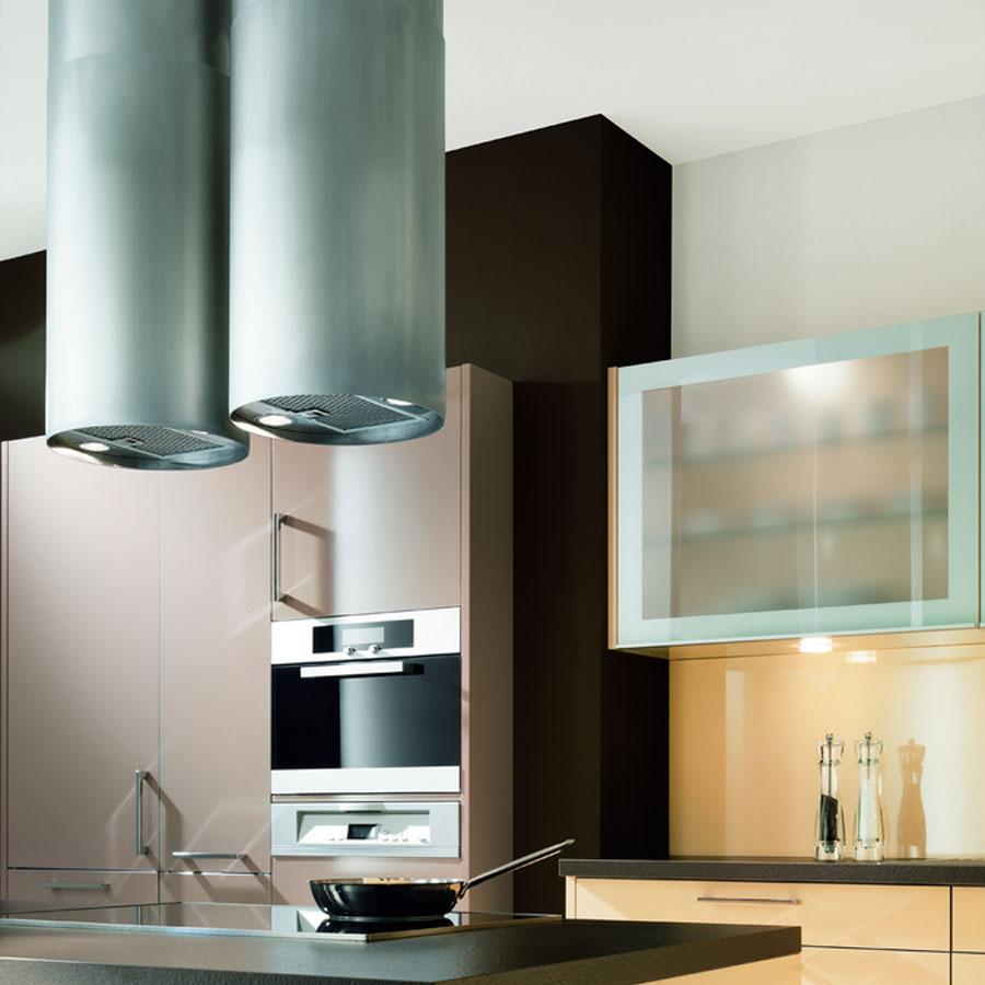 Воздухоотвод на кухне