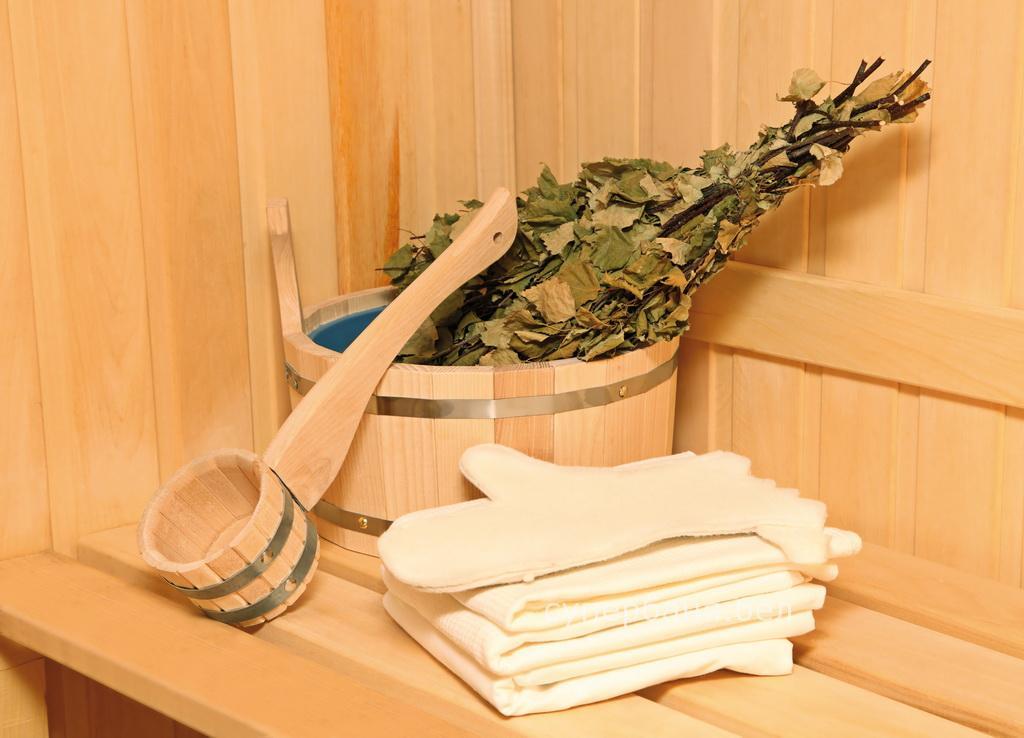 Вязание веника для бани