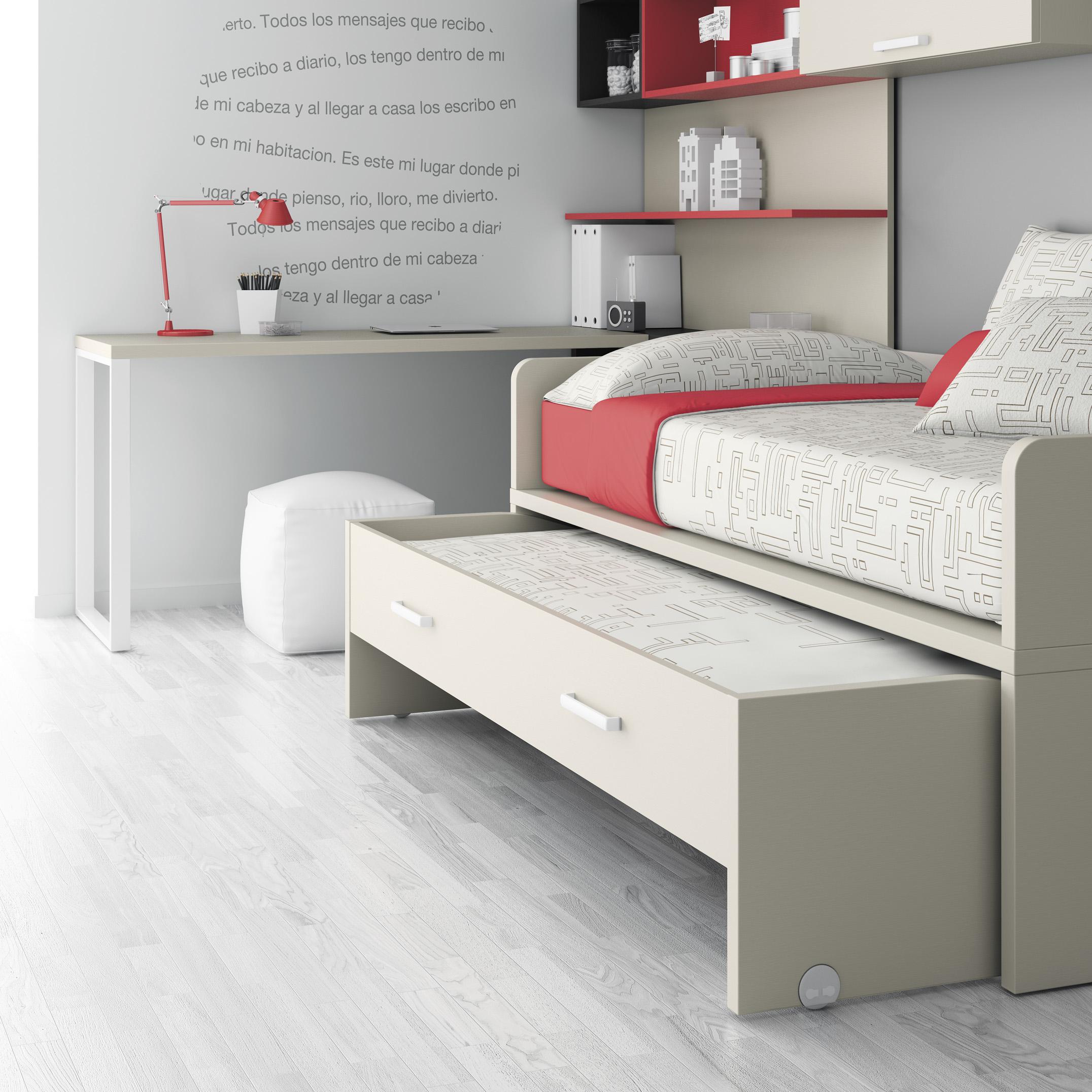 Малогабаритная выдвижная кровать