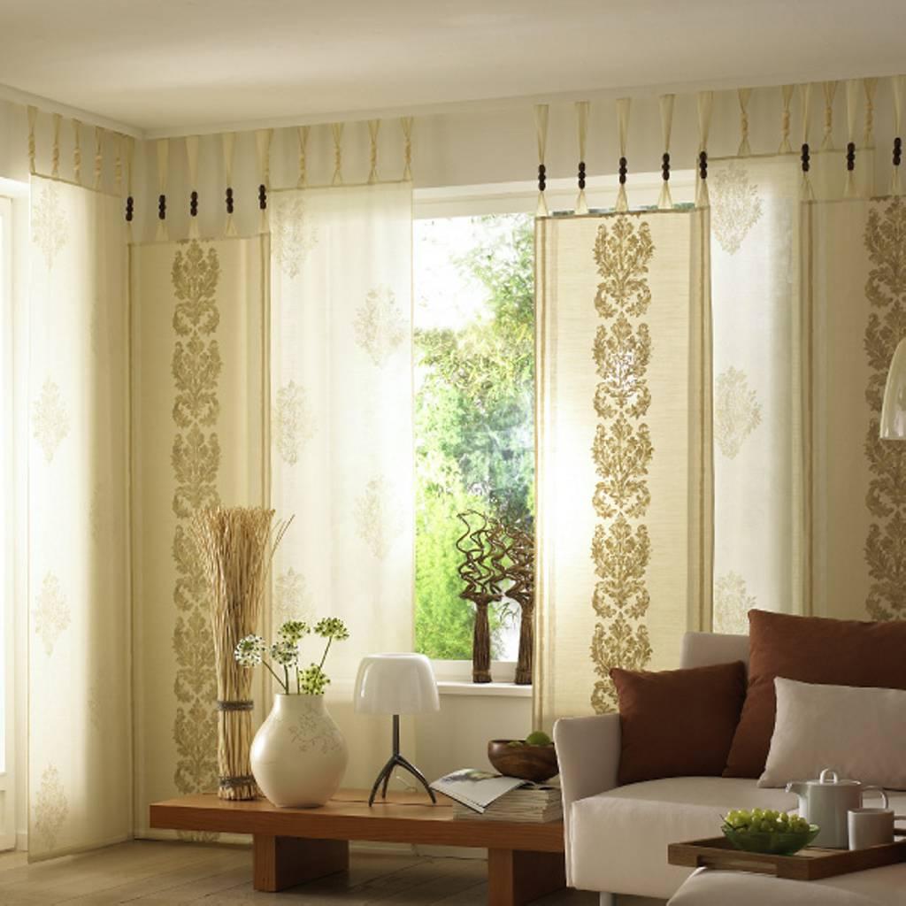 Узкие японские шторы