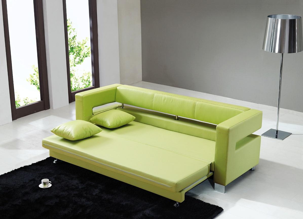 Диван малютка зеленого цвета