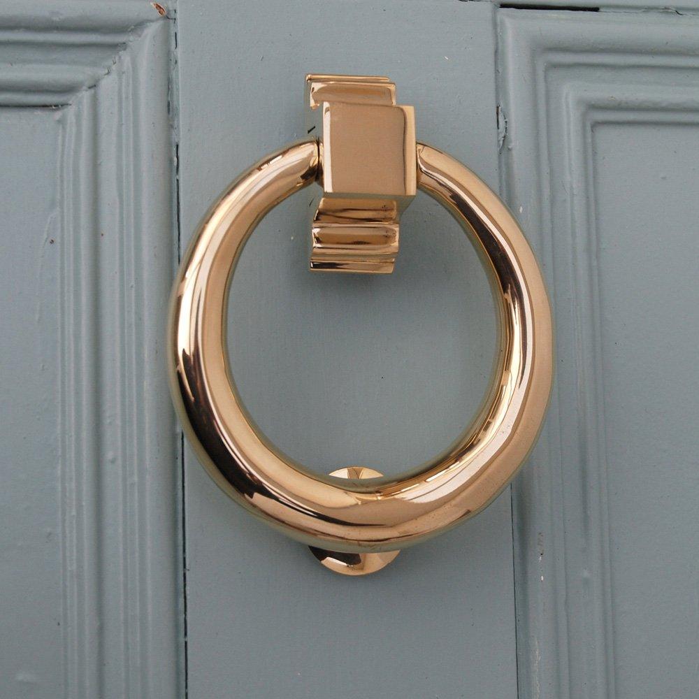 Дверной звонок под золото